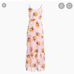 J. Crew Mercantile Tiered Floral Maxi Dress Size 6